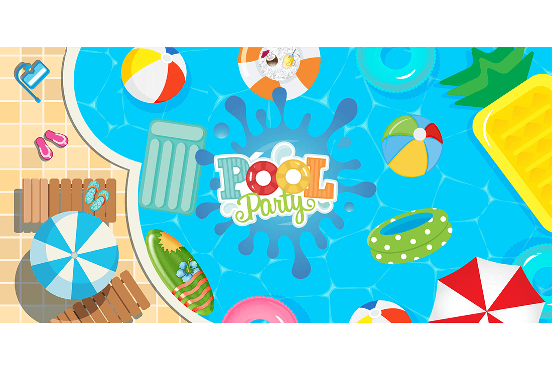 painel pool party